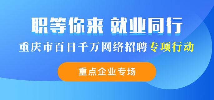 """重庆市""""百日千万网络招聘专项行动"""""""