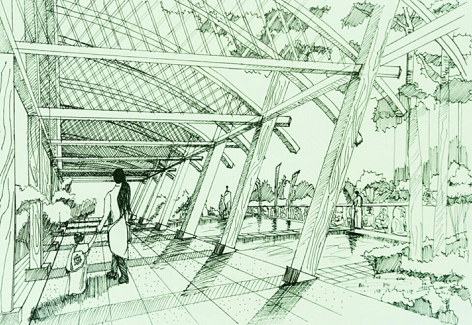 2016级风景园林专业作业展——设计表现技法